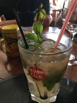 Mojito. National drink of Cuba