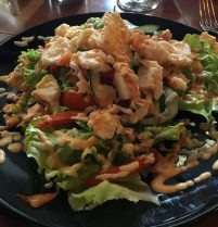 Lobster Salad at ChaChaCha'